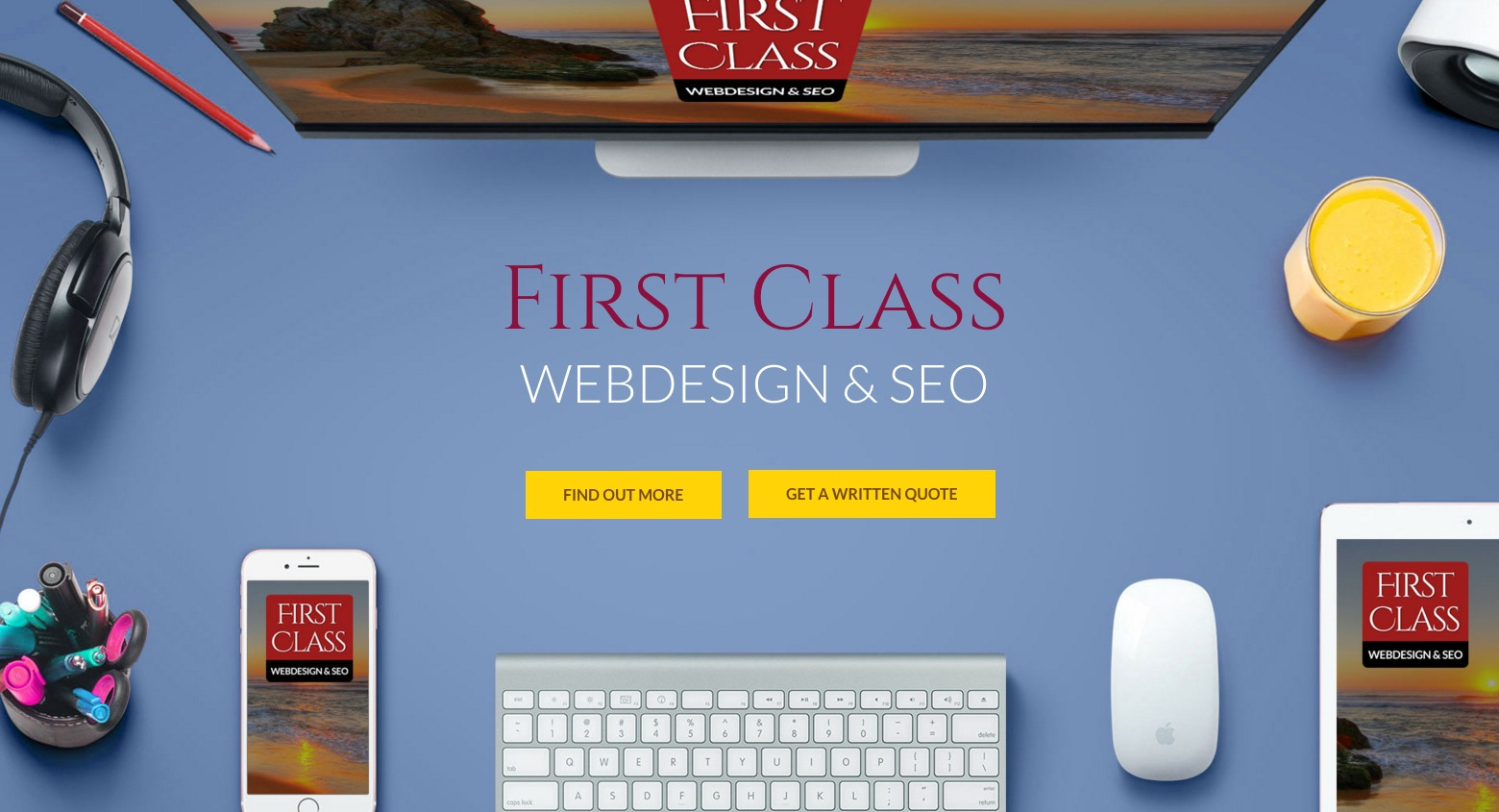 First Class Web Design in Cornwall