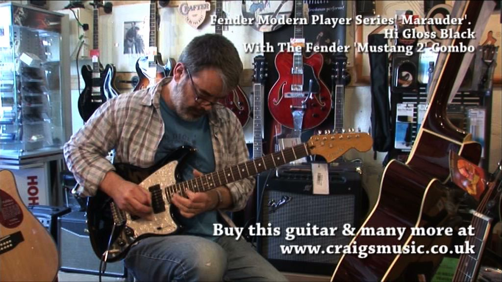 Fender Modern Player Series Marauder vid still